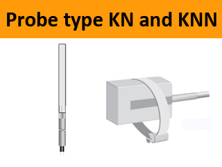 Cable-temperautre-sensor-probe-clip-on-pipe-fastening-clamp-type-KN-KNN-kty