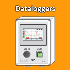 data logger measure save temperature humidity